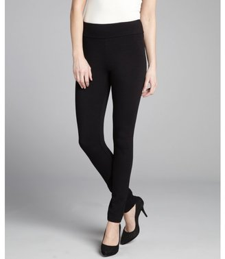 BCBGMAXAZRIA black stretch ponte leggings