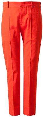 Jil Sander Stretch Cotton Pique Trousers