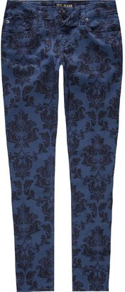 ZCO Victorian Print Womens Skinny Pants