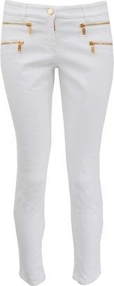 Michael Kors Skinny Zip Gold Detail Jean