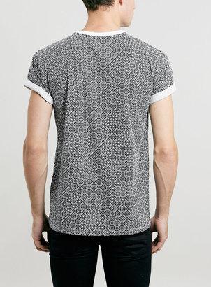Topman Casablanca Tile Roller T-Shirt