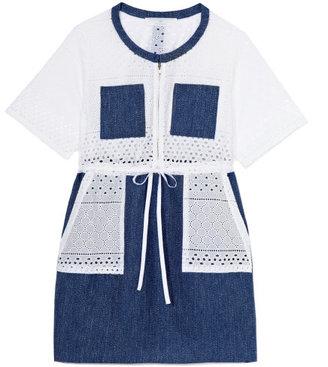 Thakoon Combo Cargo Dress