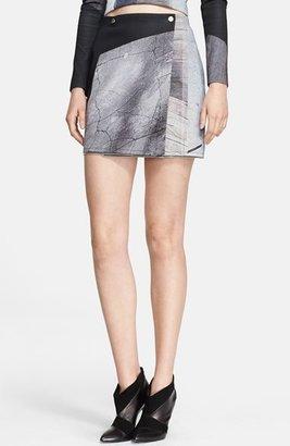 Yigal Azrouel Print Adjustable Length Skirt