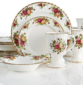 Royal Albert Old Country Roses 16 Piece Set
