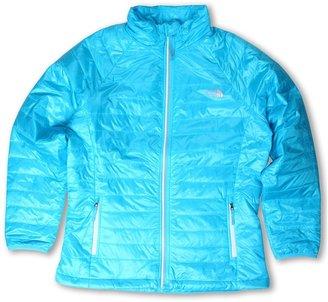 The North Face Kids - Girls' Blaze Jacket 13 (Little Kids/Big Kids) (Turquoise Blue) - Apparel