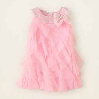 Children's Place Cascade dot swing dress