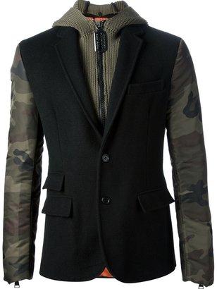 Philipp Plein hooded blazer jacket
