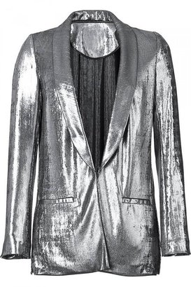 Gryphon Silver Metallic Lame Jacket