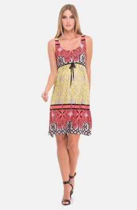 Olian Print Jersey Maternity Dress