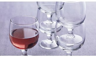 Crate & Barrel Set of 12 Eddy 11 oz. Everyday Stacking Glasses