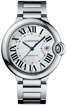 Cartier Ballon Bleu de Large Stainless Steel Bracelet Watch