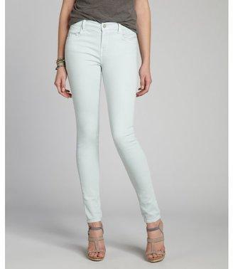 J Brand glass blue stretch denim mid-rise super skinny jeans