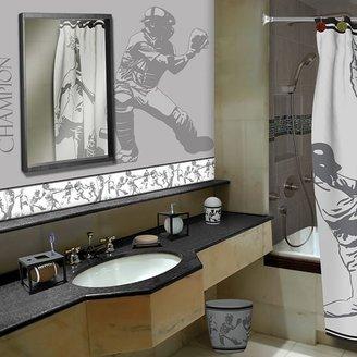 Sports fanatic bath accessories