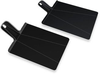 Joseph Joseph Chop2PotTM Plus Large Folding Chopping Board in Black