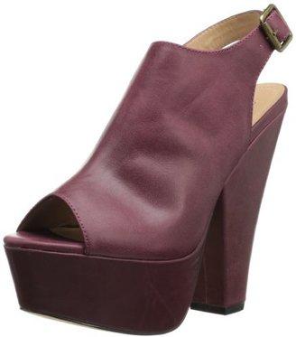 Steve Madden Women's Gabby Rubber Wedge Sandal