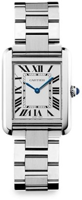Cartier Tank Solo Small Stainless Steel Bracelet Watch