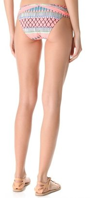 Mara Hoffman Frida Ruched Bikini Bottoms
