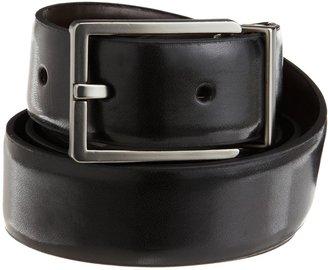 Calvin Klein Men's Semi Shine Reversible Dress Belt