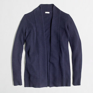J.Crew Factory Factory long open cardigan