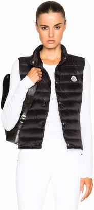 Moncler Liane Polyamide Vest in Black | FWRD
