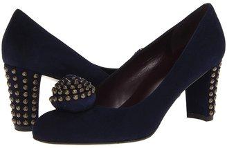 Stuart Weitzman Ding Dong (Nice Blue Suede) Women's Shoes