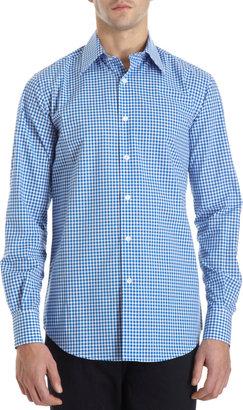 Barneys New York Gingham Shirt