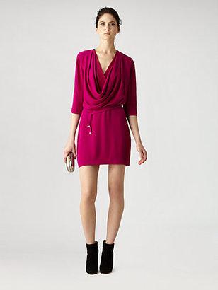 Diane von Furstenberg Rachel Lily Crepe Dress