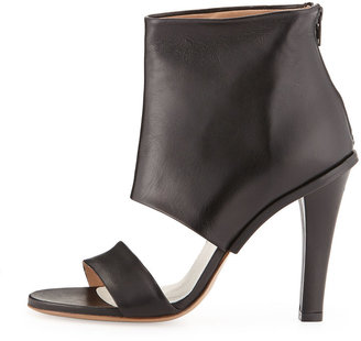 Maison Martin Margiela Leather High-Heel Sandal, Black