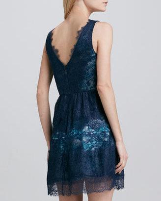 BCBGMAXAZRIA A-Line Lace Dress