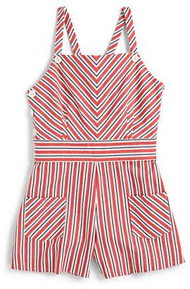 Ralph Lauren Girl's Striped Romper