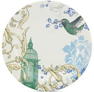 Lenox CLOSEOUT! Dinnerware, Collage by Alice Drew Hummingbird Dinner Plate