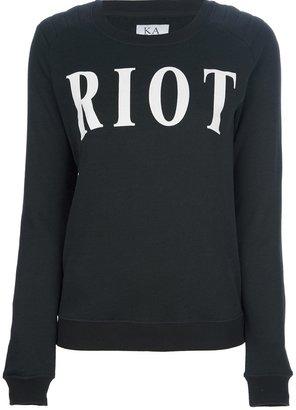 Zoe Karssen 'Riot' sweatshirt