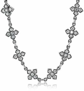 "King Baby ""Small"" MB Cross Necklace with Cubic Zirconia $870.26 thestylecure.com"