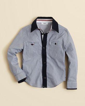 HUGO BOSS Boys' Striped Shirt - Sizes 8-16