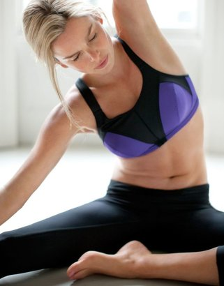 Figleaves active High Impact Non Wired Sports Bra