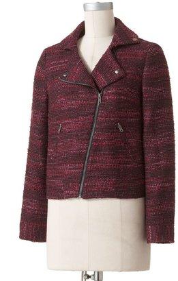 Dana Buchman asymmetrical tweed jacket