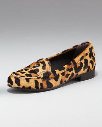 Prada Classic Leopard Loafer