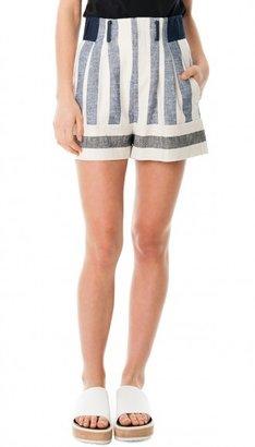 Tibi Blanket Shorts