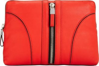 Milly Jayden Top Zip Clutch