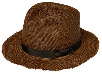 Selima Johnny Brown Straw Hat