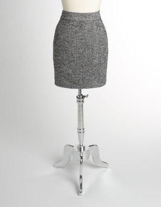 Lord & Taylor Plus-Size Herringbone Skirt