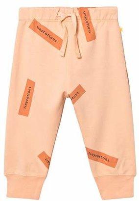 Tinycottons Nude/Dark Peach Tiny Logo Sweat Pant