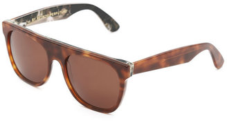 Super Rue Flat Top Printed Sunglasses