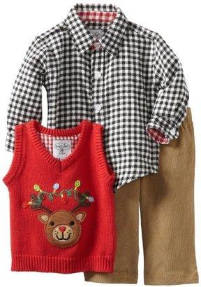 Mud Pie Baby-Boys Infant Reindeer 3 Piece Set