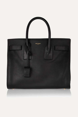 Saint Laurent - Sac De Jour Small Leather Tote - Black $2,890 thestylecure.com