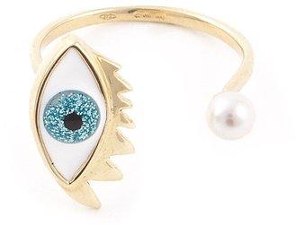 Delfina Delettrez Eye Piercing Ring