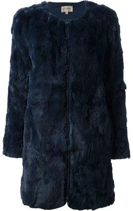 P.A.R.O.S.H. 'Iside' rabbit fur coat