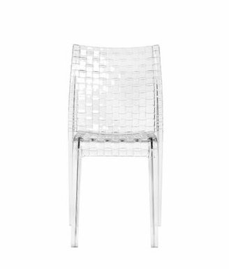 Kartell Ami Ami Chair (Set of 2 Color: Crystal