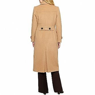 JCPenney Worthington® Classic Long Tailored Coat- Plus