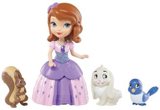 Mattel Disney Sofia the First Sofia & Animal Friends Set by